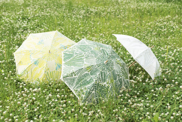 【 TANSAN TEXTILE PARASOL COLLECTION 2017 】