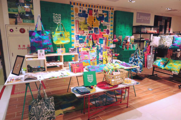 【台湾 大葉高島屋TANSAN TEXTILE POP UP SHOP】