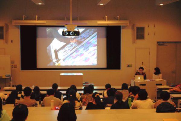 【東京造形大学 テキスタイル概論】東京造形大学で講師として授業